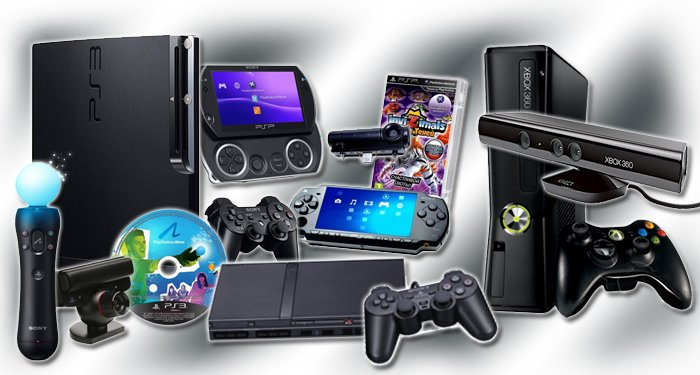 игровые приставки и аксессуары