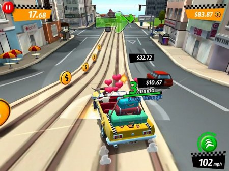 CRAZY TAXI: CITY RUSH ПОЯВИЛАСЬ В APPSTORE, ВЕРСИЯ ДЛЯ ANDROID НА ПОДХОДЕ
